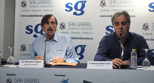 Antonio Papell y Graciano Palomo