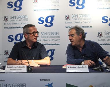 José María Lasalle y Graciano Palomo