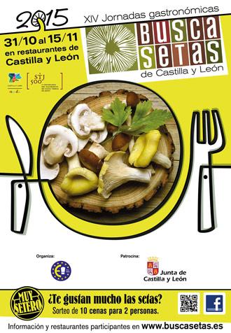Inscripción en las Jornadas gastronómicas de las setas