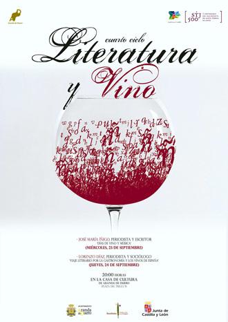 """Cuarto Ciclo """"Literatura y vino"""""""