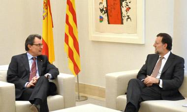 Referéndum Cataluña: Artur Mas y Rajoy