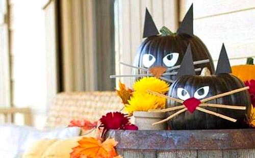 Decorara Calabazas para Hallowen