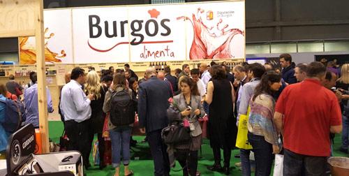 Afluencia de público en las degustaciones de Burgos Alimenta