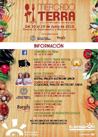 Mercado gastronómico 'Mercado Terra Burgos'
