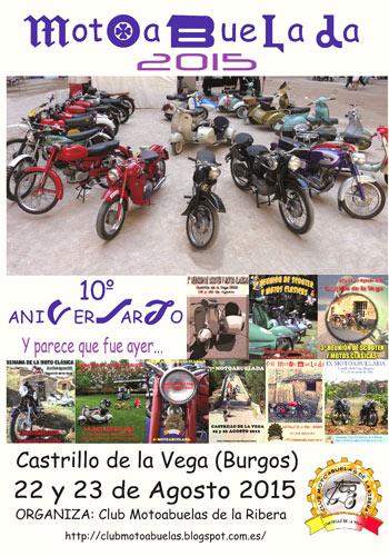 Motoabuelada 2015 en Castrillo de la Vega