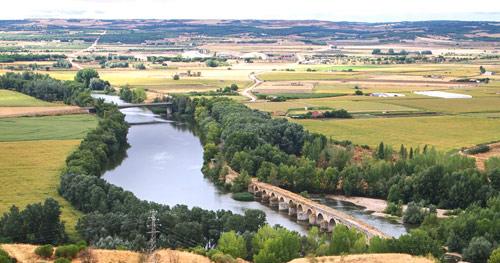 Puente Mayor sobre el Duero