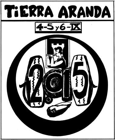 Cartel de la Bodega Tierra Aranda 2015