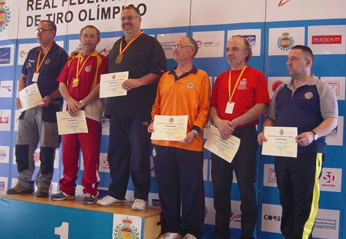 Eugenio Martín Fisac con Medalla de Oro