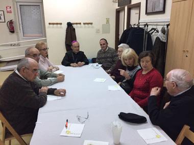 En un momento de la reunión