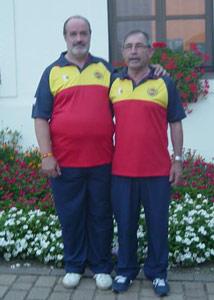 Jesús Pedro Laso y Eugenio Martín Fisac