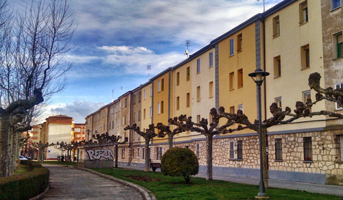 Viviendas en la Av Burgos