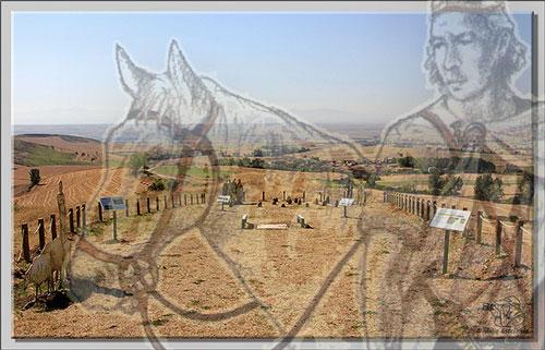 Recreación Necrópolis de Miraveche