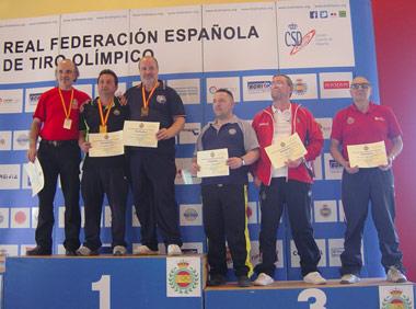 Pedro Laso con Medalla de Bronce