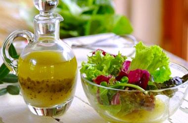 Vinagreta para ensaladas