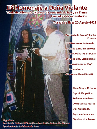 adradaexpo II Homenaje a Doña Violante