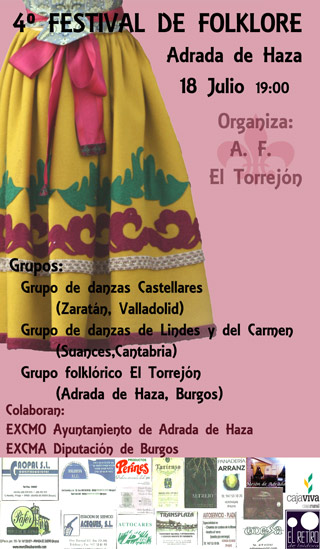 Festival de Folklore en Adrada de Haza