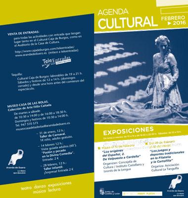 Agenda Cultural de febrero