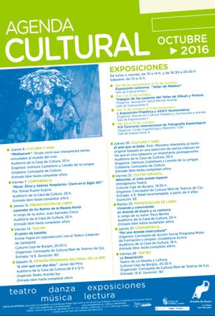 Agenda Cultural de octubre en Aranda de Duero