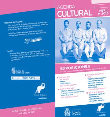 Agenda Cultural abril 2015