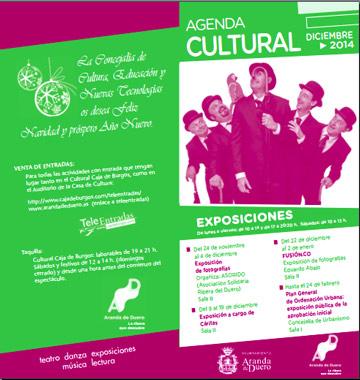 Agenda Cultural de diciembre