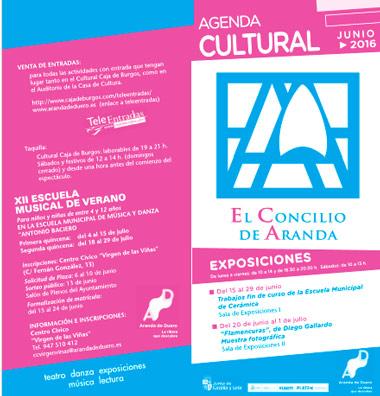 Agenda Cultural de junio 2016