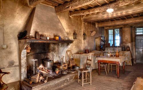 Antigua Cocina de Leña