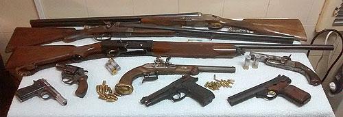 Fotografía: J. Marqués | Muestra de Armas de Distintas Categorías.