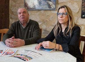 Juan Manuel Gil y Nuria Leal