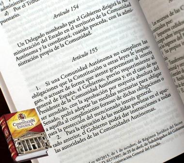 Articulo155 de la Costitución Española