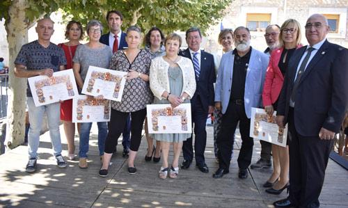 Autoridades y restaurantes premiados en el Día de la Provincia 2018