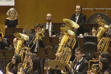 Banda de Música Municipal de Caldas de Reis, Pontevedra