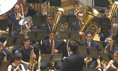 Banda de Música Vilatuxe, del Concello de Lalín, Pontevedra
