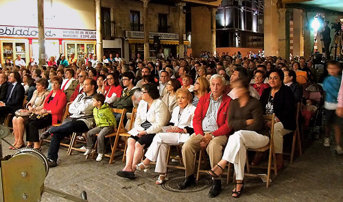 Fotografía: Javier Marqués | El numeroso público asistente al Certamen