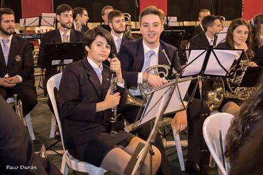 """Fotografía: Facebook de la Asociación Cultural Musical """"Banda Juvenil de Música Cruz del Humilladero"""""""