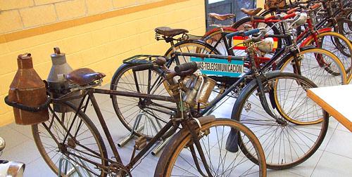 Fotografía: Javier Marqués | Algunas de las bicicletas expuestas
