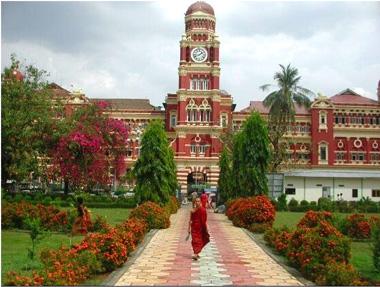 Jardín Mahabandoola, Yangon