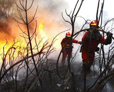 Lucha contra los incendios forestales