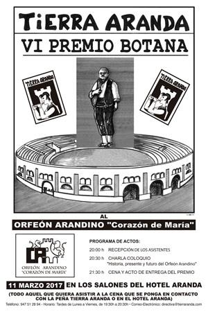 VI Edición del Premio Botana