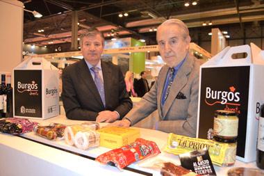 López Canís y Gómez Yagüe hoy en Burgos Alimenta en Gourmets