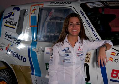 La burgalesa Cristina Gutiérrez