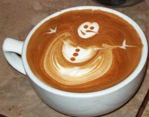 Un buen café con arte