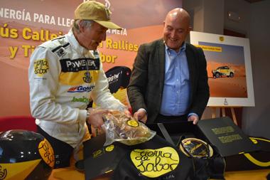 Promoción de Tierra de Sabor en el Rally Dakar 2020