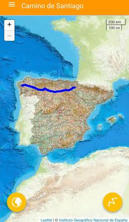 App del 'Camino de Santiago' para discapacitados