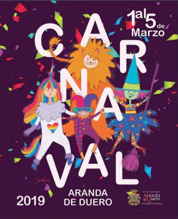 Cartel anunciador del Carnaval 2019