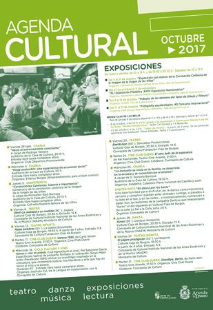 Agenda Cultural Octubre 2017