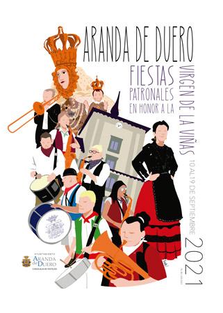Cartel Fiestas Patronales 2021