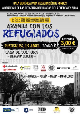 """Gala Benéfica """"Aranda con los Refugiados"""""""