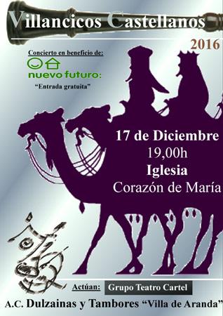 Recital musical de Villancicos Castellanos y Ribereños