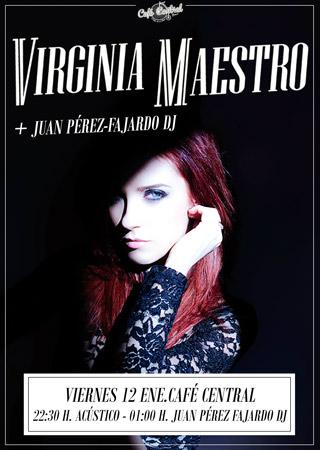 Virginia Maestro presenta Blue Bird en formato acústico
