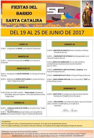Programa de Fiestas (Clik en la foto para agrandar)